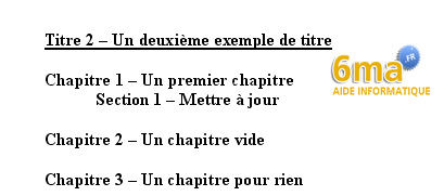 tuto word creer table des matieres image 17