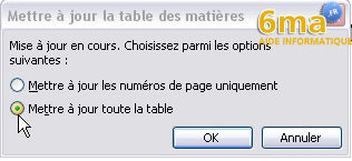 tuto word creer table des matieres image 15