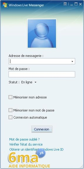 tutorial Windows Live Messenger pour debutants image05