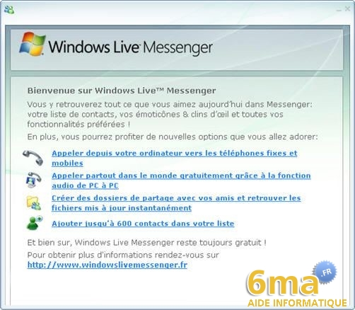 tutorial Windows Live Messenger pour debutants image15