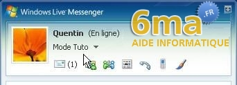 tutorial Windows Live Messenger pour debutants image19