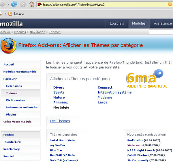 Page addon