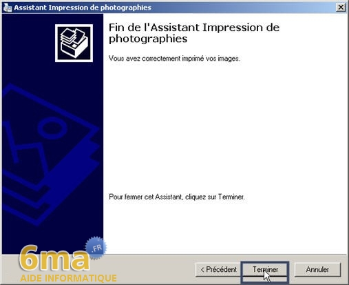 tutorial imprimer des photos avec Windows XP image08