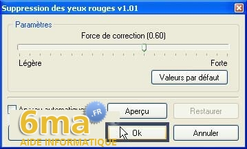 tutorial suppression yeux rouges avec PhotoFiltre image08