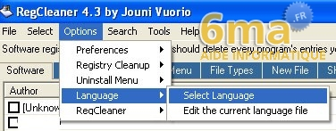 tutorial RegCleaner systeme image 5