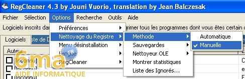 tutorial RegCleaner systeme image 7