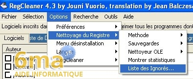 tutorial RegCleaner systeme image 9