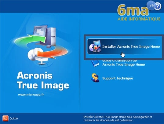 tutorial Acronis True Image image01