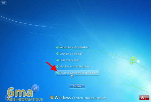 Comment fermer un programme qui ne r pond pas sous windows for Ouvrir fenetre plein ecran windows 7