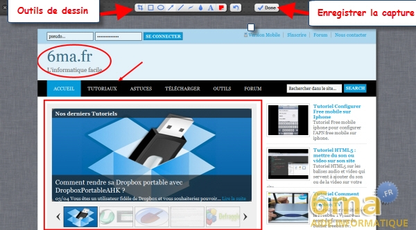 Awesome Screenshot : Réaliser des captures d'écran dans Chrome image 2