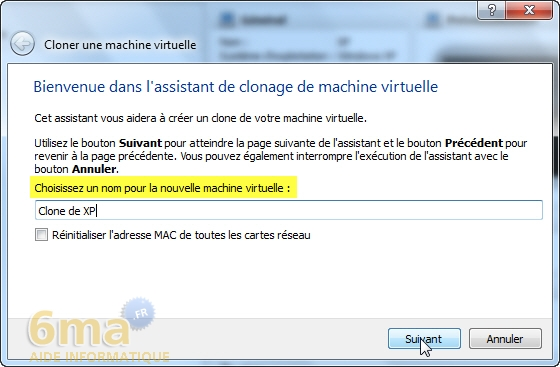 Comment cloner une machine virtuelle sur VirtualBox ? image 1