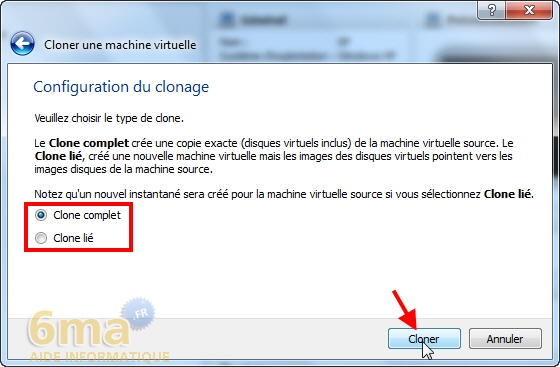 Comment cloner une machine virtuelle sur VirtualBox ? image 2