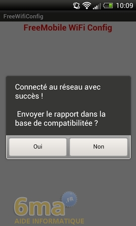 FREE WIFI SECURE IPHONE NE FONCTIONNE PAS
