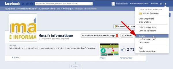 Comment changer son mot de passe Facebook ? image 0