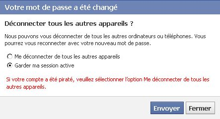 Comment changer son mot de passe Facebook ? image 3