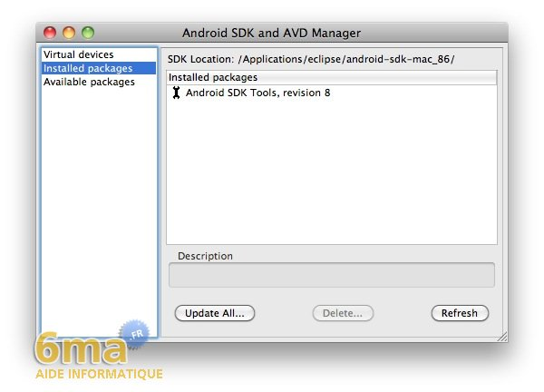 Installer le SDK Android sur Mac OSX image 13