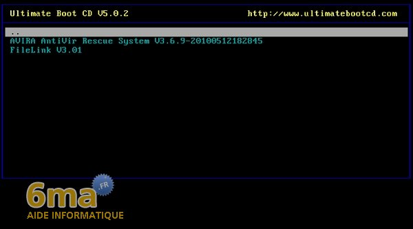 Ultimate Boot CD 5.0.2 : Présentation image 5