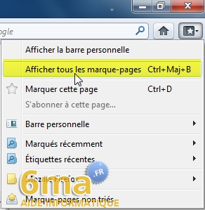 Marque-Pages Firefox image 6