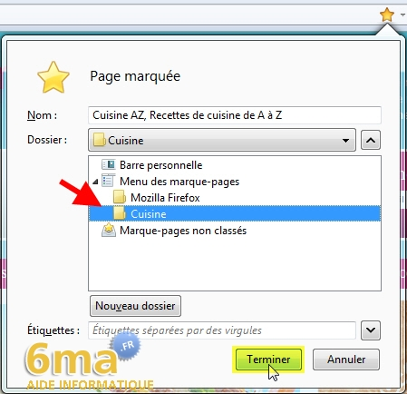 Marque-Pages Firefox image 11
