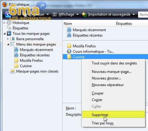Marque-Pages Firefox image 13