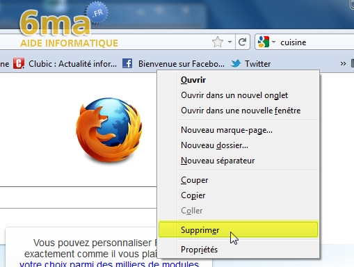 Marque-Pages Firefox image 14