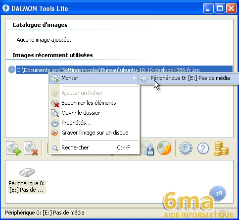 daemon tools lite emulateur de lecteur cd dvd rom. Black Bedroom Furniture Sets. Home Design Ideas