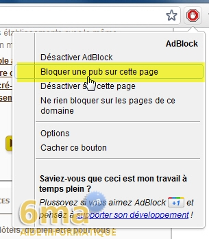 Comment arreter les fenetres publicitaires sur google chrome for Bloquer fenetre pop up chrome