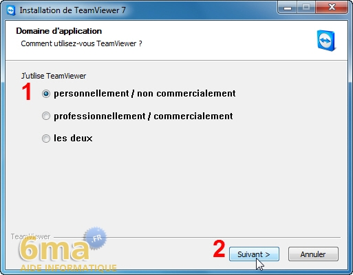 comment marche teamviewer 7