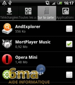 How To Move Android Apps Apk From Internal Memory To Sd Card