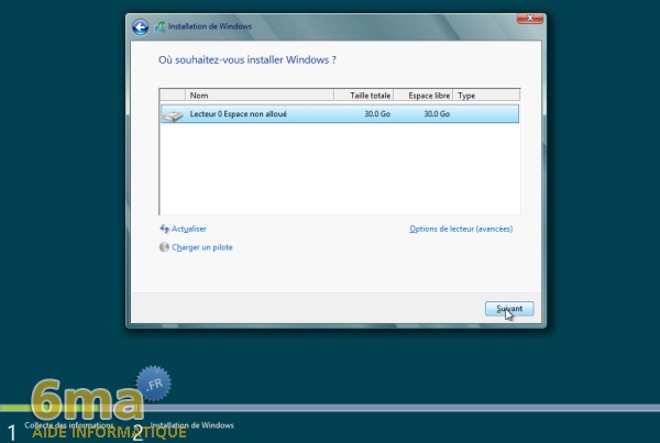 Comment installer Windows 8 Release Preview (beta) ? image 8