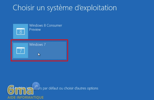 Dual Boot Windows 7 / Windows 8 : Créer / Supprimer image 12