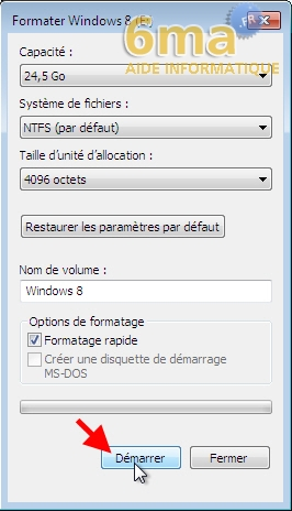 Dual Boot Windows 7 / Windows 8 : Créer / Supprimer image 18