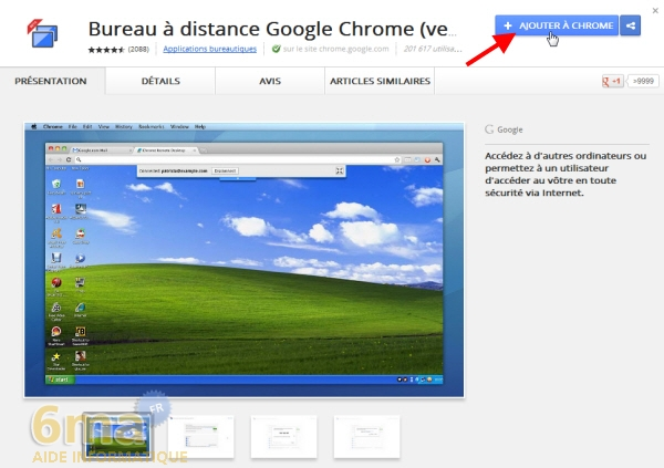 Bureau distance chrome contr ler un ordinateur distance - Bien choisir son ordinateur de bureau ...