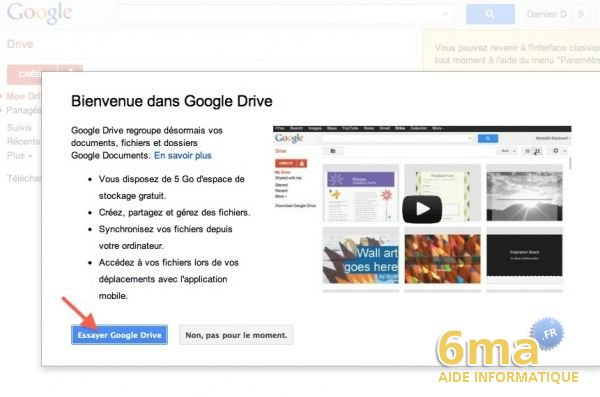 how to use google drive on mac