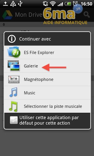Google Drive sur Android image 11