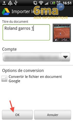 Google Drive sur Android image 13