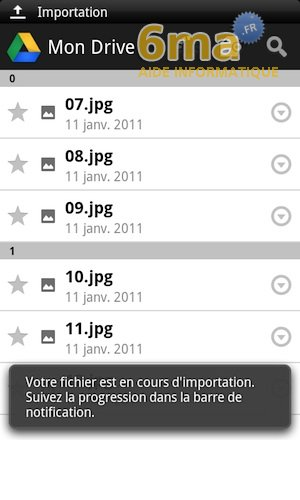 Google Drive sur Android image 14