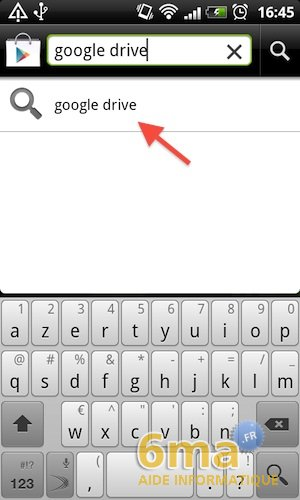 Google Drive sur Android image 0