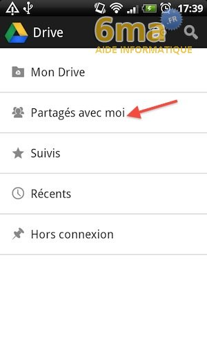 Google Drive sur Android image 21