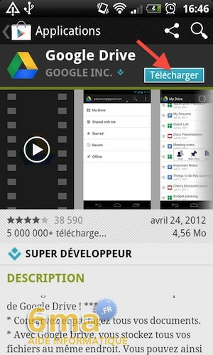 Google Drive sur Android image 2