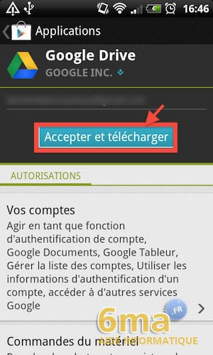 Google Drive sur Android image 3