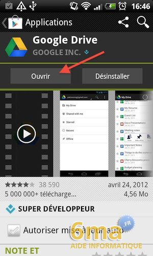Google Drive sur Android image 5