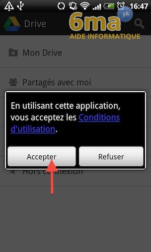 Google Drive sur Android image 6