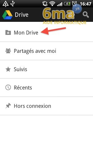 Google Drive sur Android image 8