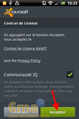 Protéger son mobile Android avec Avast Mobile Security image 0