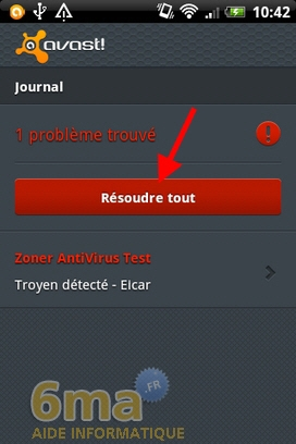 Protéger son mobile Android avec Avast Mobile Security image 3