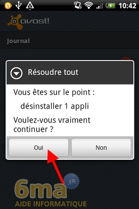 Protéger son mobile Android avec Avast Mobile Security image 4