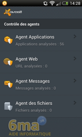 Protéger son mobile Android avec Avast Mobile Security image 9