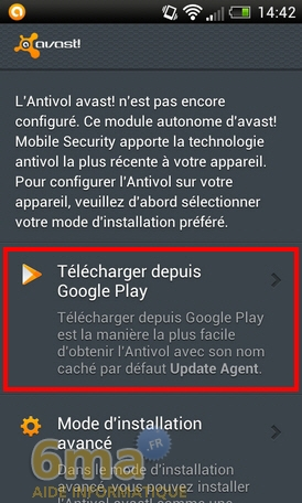Protéger son mobile Android avec Avast Mobile Security image 16