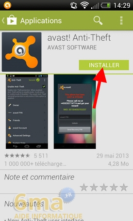 Protéger son mobile Android avec Avast Mobile Security image 17